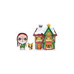 Funko Christmas Village - Figurine POP! Santas House w/Santa & Nutmeg 9 cm