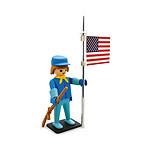 Playmobil - Figurine Vintage Collection Soldat Américain 21 cm