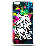 1001 Coques Coque silicone gel Apple iPhone 6 / 6S motif Swag or die