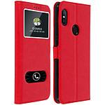 Avizar Etui folio Rouge pour Xiaomi Redmi Note 5