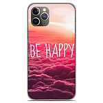 1001 Coques Coque silicone gel Apple iPhone 11 Pro motif Be Happy nuage