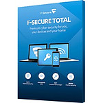 F-Secure Total - Licence 1 an - 3 postes - A télécharger