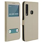 Avizar Etui folio Dorée pour Samsung Galaxy A9 2018