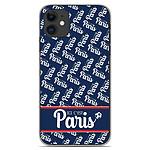 1001 Coques Coque silicone gel Apple iPhone 11 motif Ici c'est Paris
