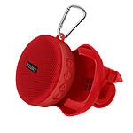 Avizar Enceinte sans-fil Rouge pour Tous les appareils dotés de la fonctions Bluetooth