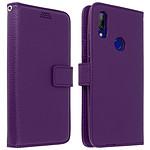 Avizar Etui folio Violet pour Xiaomi Redmi 7