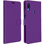 Avizar Etui folio Violet pour Xiaomi Redmi Note 7