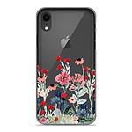 1001 Coques Coque silicone gel Apple iPhone XR motif Printemps en fleurs