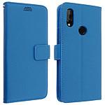 Avizar Etui folio Bleu pour Xiaomi Redmi 7