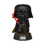 Star Wars - Figurine POP! Electronic sonore et lumineuse Darth Vader 9 cm