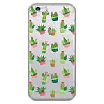 1001 Coques Coque silicone gel Apple iPhone 6 / 6S motif Cactus