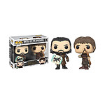 Game of Thrones - Pack 2 Figurines POP! Battle of the Bastards 9 cm