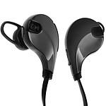 Avizar Ecouteurs sans-fil Noir pour Smartphones et tablettes compatibles Bluetooth