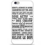1001 Coques Coque silicone gel Apple IPhone 7 motif Citation 11