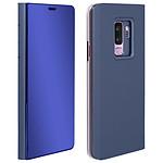 Avizar Etui folio Bleu pour Samsung Galaxy S9 Plus