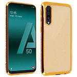 Avizar Coque Dorée pour Samsung Galaxy A50 , Samsung Galaxy A30s