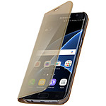 Avizar Etui folio Dorée pour Samsung Galaxy S7 Edge