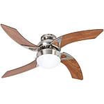 Farelek - Ventilateur de plafond - MOOREA -  107cm - 4 pales - 1 lampe reversible - 108833
