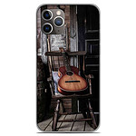 1001 Coques Coque silicone gel Apple iPhone 11 Pro motif Guitare