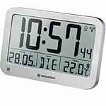 Bresser Horloge Murale Avec Grand écran Lcd Et Affichage De Température Couleur Argent BRE_7001801