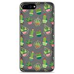 1001 Coques Coque silicone gel Apple iPhone 7 Plus motif Cactus