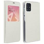 Avizar Etui folio Blanc pour Samsung Galaxy A71