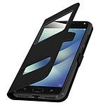 Avizar Etui folio Noir pour Asus Zenfone 4 Max ZC520KL