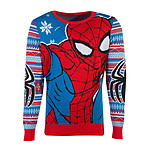 Marvel - Sweat Christmas Spider-Man - Taille S