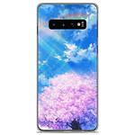 1001 Coques Coque silicone gel Samsung Galaxy S10 Plus motif Hanami