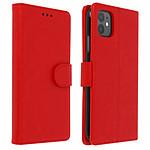 Avizar Etui folio Rouge pour Apple iPhone 11