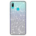 1001 Coques Coque silicone gel Huawei P Smart 2019 motif Lignes étoilées
