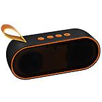 Avizar Enceinte sans-fil Orange pour tous les appareils dotés de la fonction Bluetooth