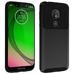 Avizar Coque Noir pour Motorola Moto G7 Play