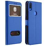 Avizar Etui folio Bleu pour Huawei P Smart Plus