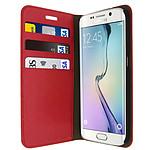 Avizar Etui folio Rouge pour Samsung Galaxy S6 Edge