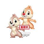 Tic et Tac, Les Rangers du Risque - Pack 2 figurines Fluffy Puffy Tic et Tac 7 cm