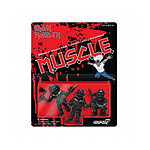 Iron Maiden - Pack 3 figurines MUSCLE (Black) 4 cm