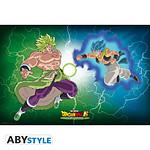 Dragon Ball -  Poster Broly Vs Gogeta (91,5 X 61 Cm)