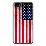 1001 Coques Coque silicone gel Apple IPhone 8 motif Drapeau USA