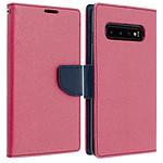 Avizar Etui folio Fuchsia pour Samsung Galaxy S10