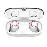 WEE'PLUG Ecouteurs intra-auriculaires sans fil i17+ Blanc
