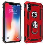 Avizar Coque Rouge Bi-matières pour Apple iPhone X , Apple iPhone XS