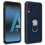 Avizar Coque Bleu Nuit pour Samsung Galaxy A40