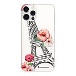 LA COQUE FRANCAISE Coque iPhone 12/12 Pro souple transparente Un Printemps à Paris