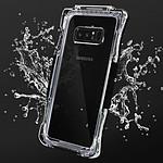 Avizar Coque étanche Noir pour Samsung Galaxy Note 8