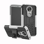 Lapinette Coque Anti Choc Pour Motorola Moto G6 Play Modèle Spider Blanc