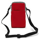 Avizar Pochette Rouge pour Tous les Appareils d'une hauteur max. de 18 cm et d'une largeur jusqu'à 10 cm