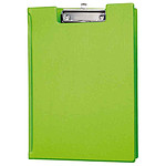 Maul Porte-bloc à rabat en carton plastifié A4 vert