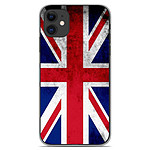 1001 Coques Coque silicone gel Apple iPhone 11 motif Drapeau Angleterre