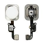 Avizar Bouton Home Complet avec nappe de connexion pour Apple iPhone 6 Blanc
